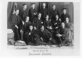 Class of 1885 - includes Margaret Florence Newcombe, first women graduate with a BA from Dalhousi...