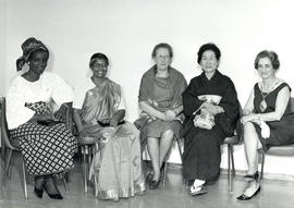 Photograph of Board Members International Council of Nurses 1965-1969