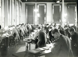 Photograph of Medical Students in Labs at Forrest Building [1938]