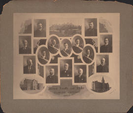 Composite photograph of Faculty of Medicine, Faculty & Class of 1907