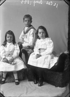 Photograph of Mrs. Rutherford's children
