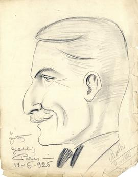 Drawing of Arthur Stanley MacKenzie