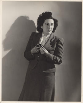 Publicity photograph of Ellen Ballon