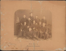 Photograph of Dalhousie College Senior class of 1884