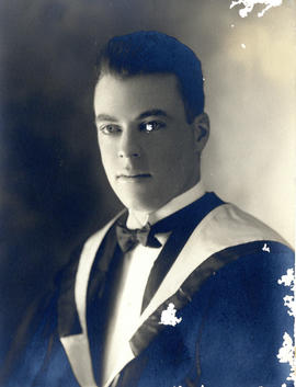 Portrait of Clarence Gordon Mackinnon - Class of 1931