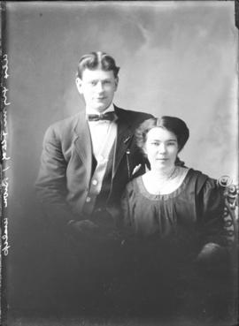 Photograph of Mr. Alex Flynn & a lady friend