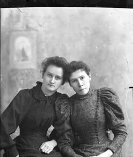 Photograph of Mrs. Bell and  Mrs. Reid