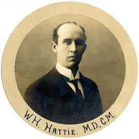 Portrait of William Harrop Hattie