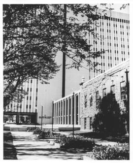Photograph of the Tupper Medical Building