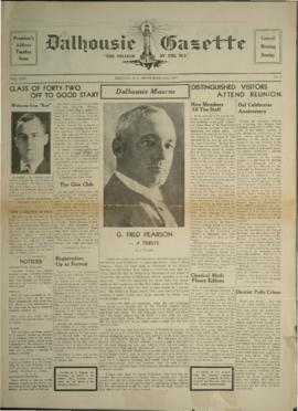 Dalhousie Gazette, Volume 71, Issue 1