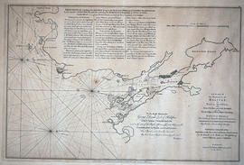 Chart of the harbour of Halifax in Nova Scotia