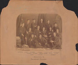 Photograph of Dalhousie College Senior Class of 1885