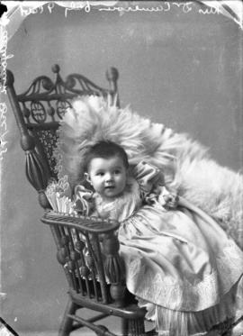Photograph of Mrs. Dr. Cameron's baby