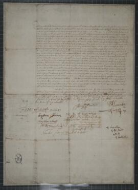 Minute of condition between Sir William Alexander and Duncan Forbes, Provost of Inverness and Lai...