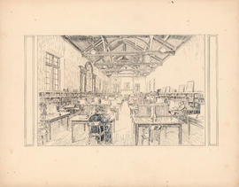 The main reading room of the Macdonald Memorial Library : [drawing]