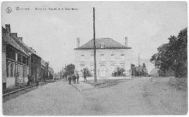 Postcard of the Rues de l'Appas et a charrelles, Wasmes, Belgium