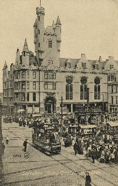 Postcard of the Salvation Army Citadel, Aberdeen