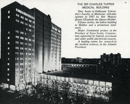 The Sir Charles Tupper Medical Building : [promotional card]