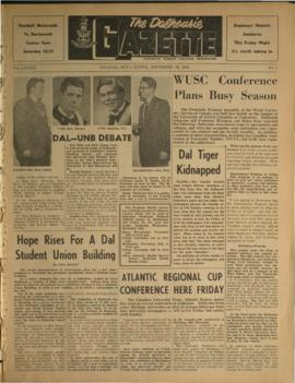 The Dalhousie Gazette, Volume 91, Issue 7