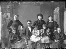 Photograph of Mr. McLean and family