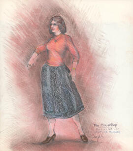 Costume design for Mollie : Act 1, Scene 1