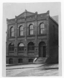 Photograph of St. Paul building on Salter Street in Halifax Nova Scotia