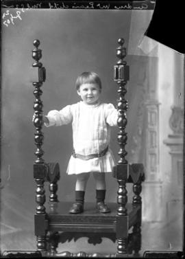 Photograph of the child of Andrew McLean