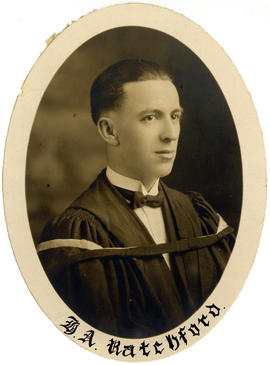 Portrait of Harold Andrew Ratchford : Class of 1925