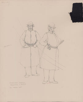 Costume design for Hardmuzzle and Buttons