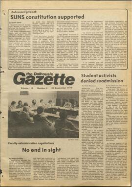 The Dalhousie Gazette, Volume 112, Issue 2