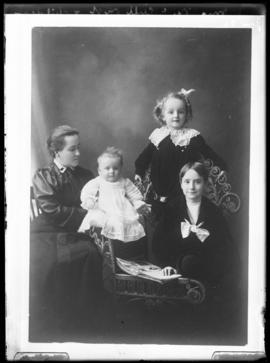 Photograph of Mrs. McCullough & her children