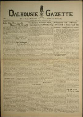 Dalhousie Gazette, Volume 67, Issue 17
