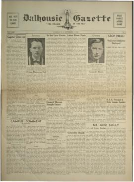 Dalhousie Gazette, Volume 71, Issue 6