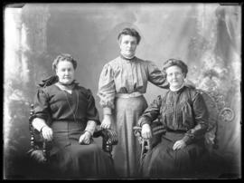 Photograph of Mrs. John Woodin & friends