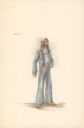 Costume design for The Man