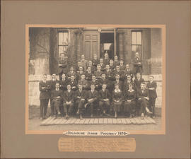 Photograph of Dalhousie Junior Pharmacy class of 1920