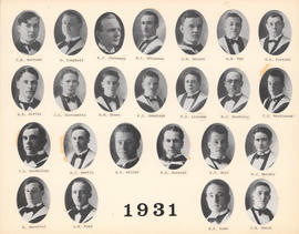Composite Photograph of the Faculty of Medicine - Class of 1931