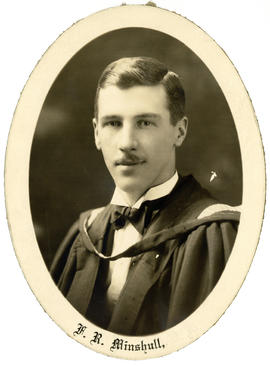 Portrait of Fred Arthur Minshull : Class of 1930