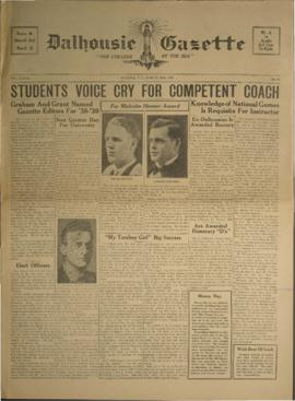 Dalhousie Gazette, Volume 70, Issue 20
