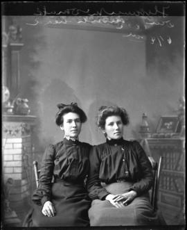 Photograph of Florence McDonald & friend