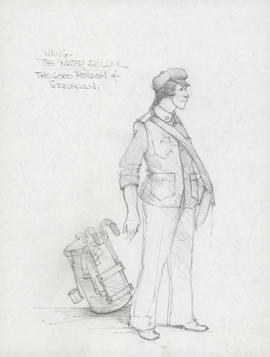 Costume design for Wang