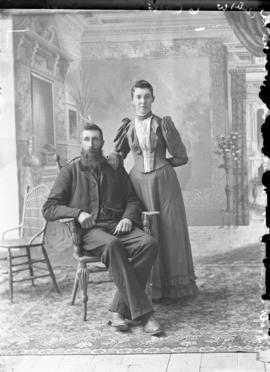 Photograph of Mr. and Mrs. D. W. Cameron