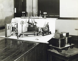 Photograph of laboratory equipment in the Science Building