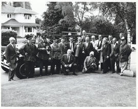Photograph of members of the Canadian Medical Society in Vancouver