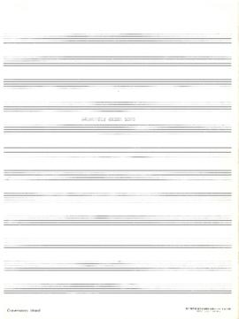 Dalhousie cheer song : [music manuscript]