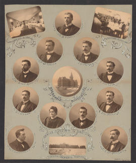 Composite Photograph of the Faculty of Medicine - Class of 1899
