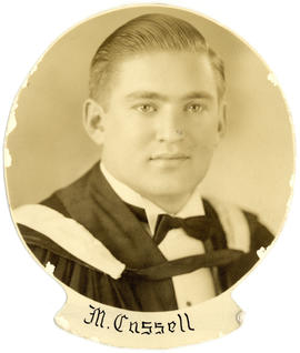 Portrait of Max Cassell : Class of 1939