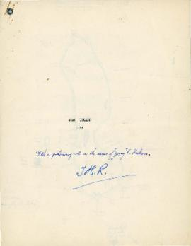 """Seal Island 1948, with a Preliminary note on the career of Jerry V. Nickerson"""