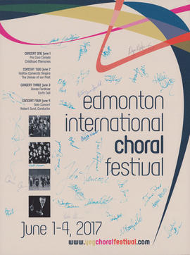 Edmonton International Choral Festival : [poster]