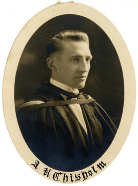 Portrait of Alexander Roy Chisholm : Class of 1925